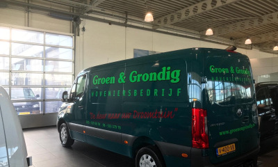 Autobelettering Groen&Grondig