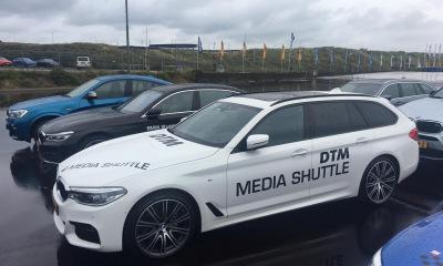 Autobelettering DTM Media Shuttle