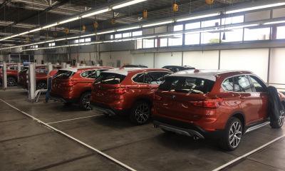 Autobeletteringen diverse BMW's