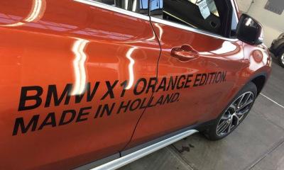 Autobelettering BMW X1