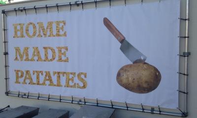 Bisonyldoek Home Made Patates