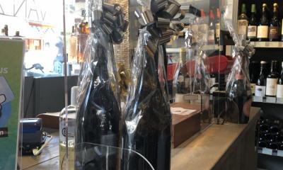 Plexiglas schermen, Wijnhandel van Zoolingen, Overveen