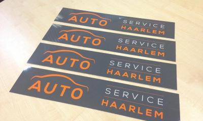 Stickers Auto Service Haarlem
