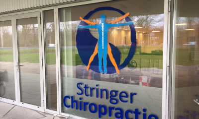 Pandbelettering Stringer Chiropractie