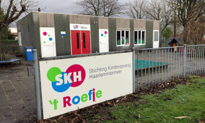 Pandbelettering SKH 't Roefje