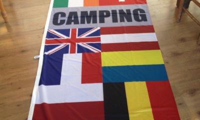 Beachflag Mastvlag Camping Zandvoort